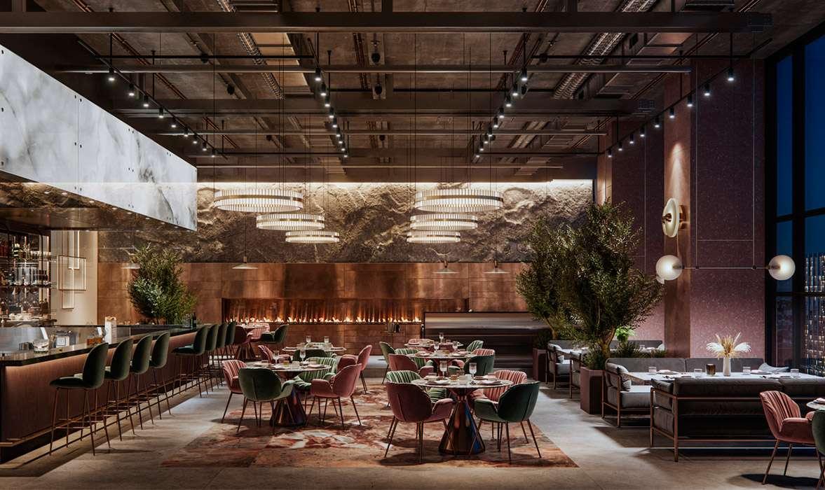 iluminacion-restaurantes